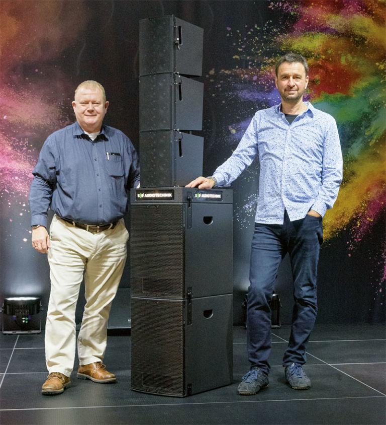 Michael von Keitz und Markus Schmittinger