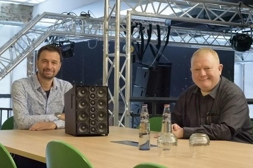 Michael von Leitz und Markus Schmittinger